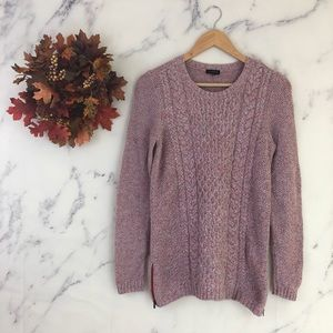 Talbots Cable Knit Pullover Sweater